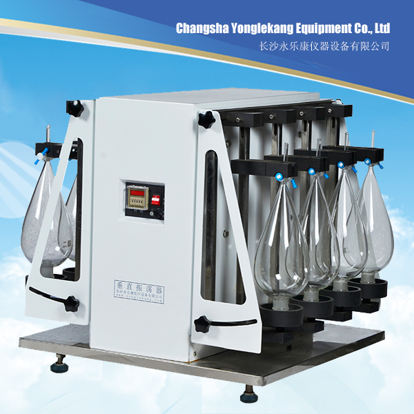 Laboratory Liquid Liquid Extraction Separatory Funnel Slant Shaking Mixer