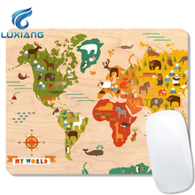 Eco-friendly Promotional Custom Logo Printed Rubber Mouse Pad/Mouse mat