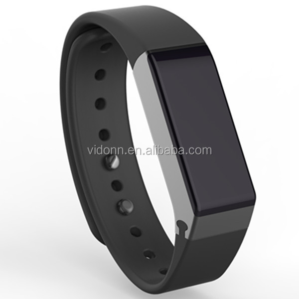 2016 promotional gifts rubber silicone bracelet bluetooth watch sleep monitor health partner health smart bracelet