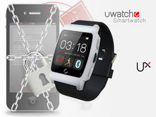 Wrist Watch Phone Android Heart Rate Monitor Bluetooth 4.0 Uwatch UX Smartwatch 1.44 inch 128*128 screen