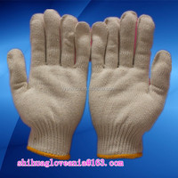 protective gloves seamless knitted cotton glove