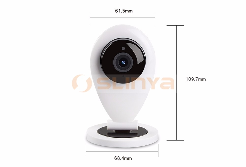 Home Mini Camera 720P WiFi Wireless IP Security Surveillance Camera for Baby Elder Pet with Night Vision