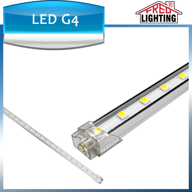 5050 IP54 4.8W 0.5m undercabinet LED light strip rigid bar