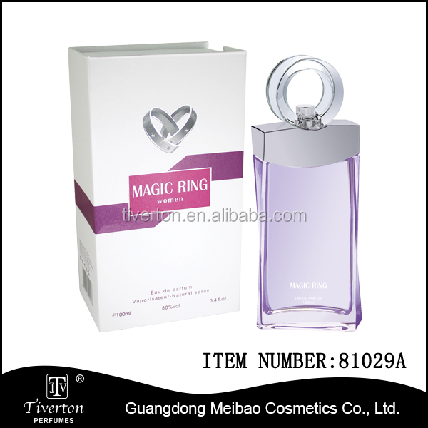tiverton brand Magic Ring Love Perfume with special glass bottle