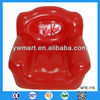 Red inflatable sofa advertising, advertising PVC outdoor inflatable sofa