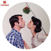 2016 christmas decoration plastic extendable mistletoe, kissing ball