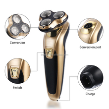 Custom Logo Auto men shaver rechargeable 3 in 1 shaver with triple blade