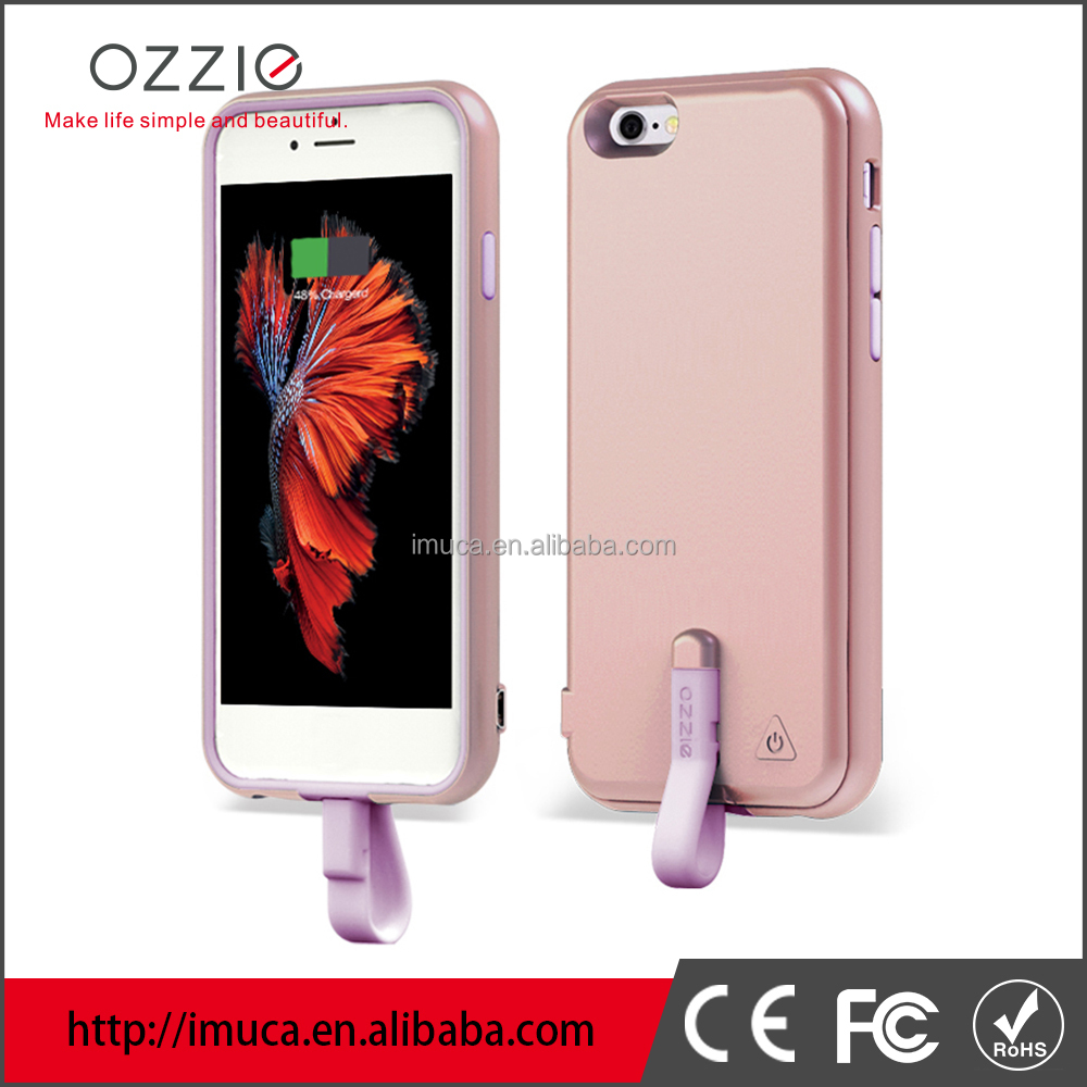 OZZIE 2000mAh battery terminal cover For Apple iPhone 6s