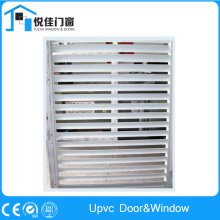upvc louver window and upvc frame with glass shutter window