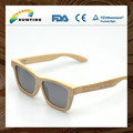 Wholesale fashionable hand made Bamboo and wood Sunglasses