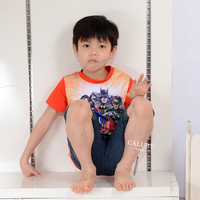 hot sale baby clothes wholesale plain organic cotton baby boys t-shirts