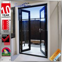 Industrial waterproof french multi lock doors