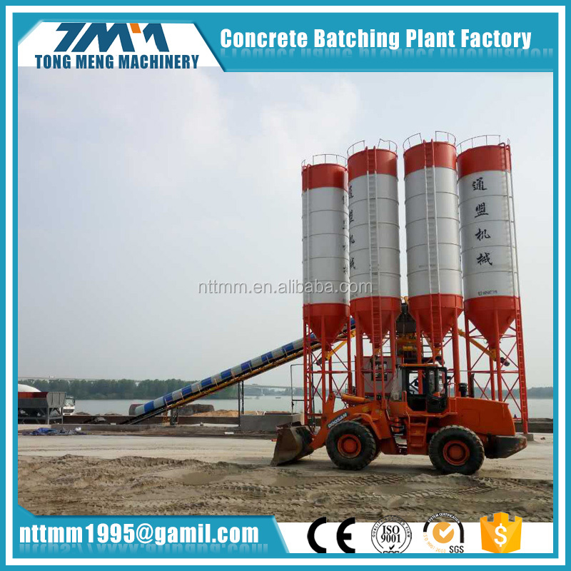 90m3/h New Mini Concrete Batching Plant HZS35 Price