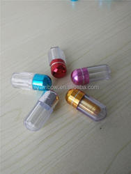 100g 150g 200g pharma grade plastic bottles with metal cap for healthcare products capsules bottle