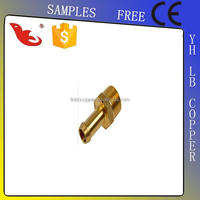 LB-GutenTop new arrive y joint nipple brass hose joint fitting brass npt threaded hose barbs hose joint