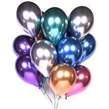 New Arrival Pearl Color Chrome <strong>12</strong> inch Metallic Latex Balloons for Party Decoration