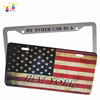 Factory price OEM custom plastic bling car license plate frames holder
