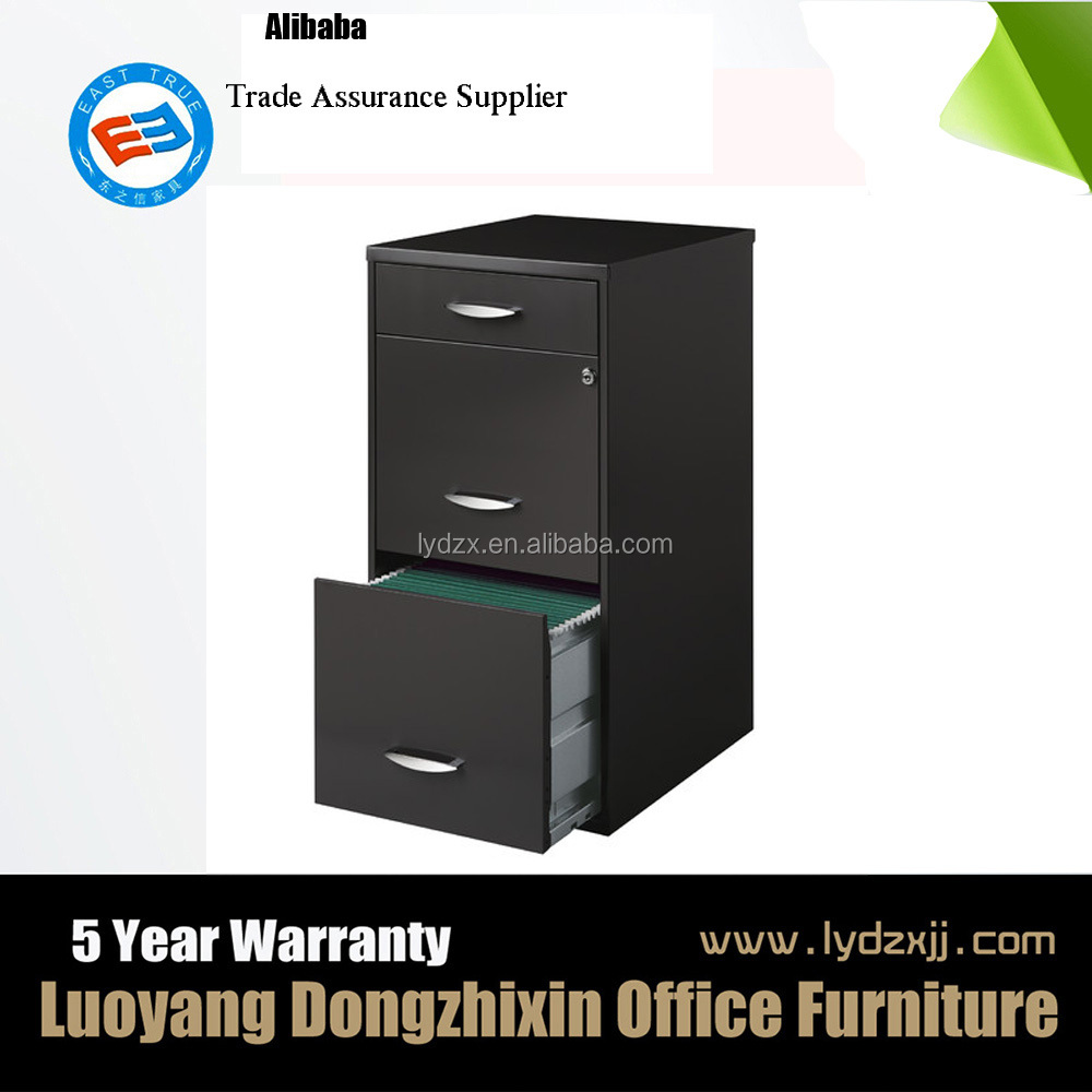 factory cheap movable 3 drawer metal file cabinet