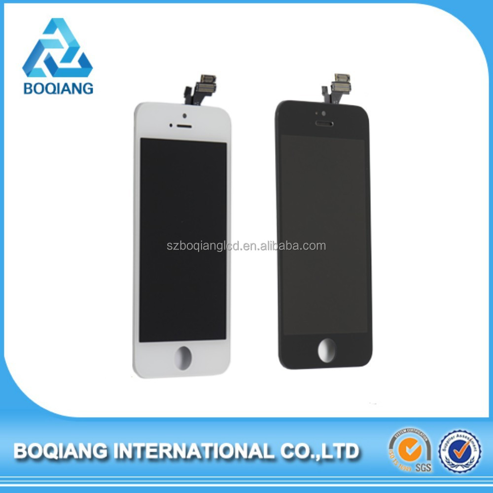 Brand New High Quality For iPhone Digitizer,For iPhone 5 Parts,Digitizer For iPhone 5 5G Mobile Phone LCD