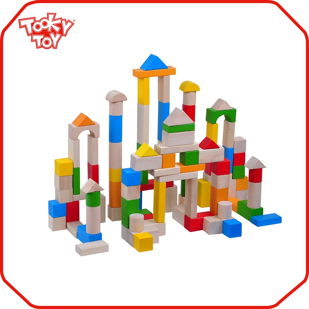 Toy Large Wooden Blocks 4
