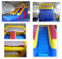GMIF16022401 made in China air-filled inflatable slide pool for fun day