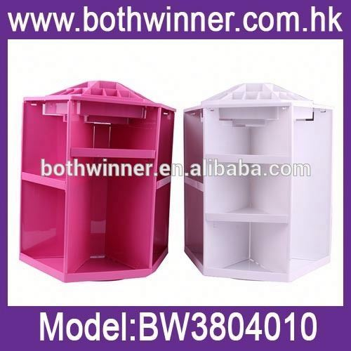 360 degree rotating acrylic makeup organizer h0tSW cosmetic storage box for sale