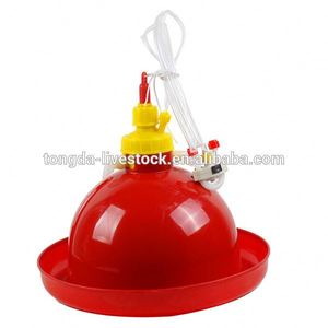 Strong plastic water trough for chickens automatic drinker poultry water feeder