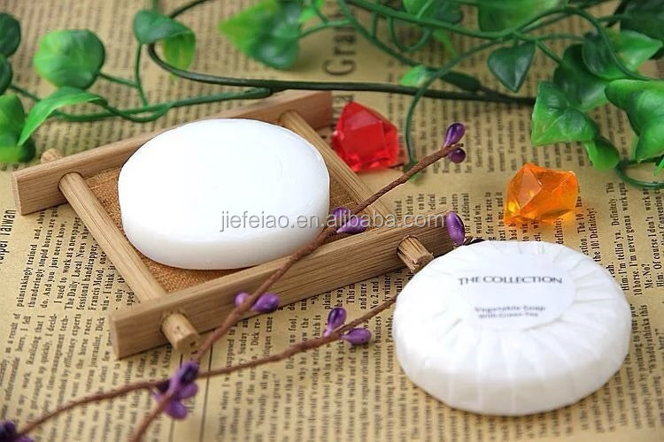 custom disposable hotel skincare collagen soap