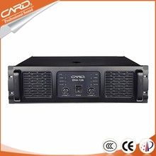 High quality qsc power 1000W per Channel pa subwoofer power amplifier