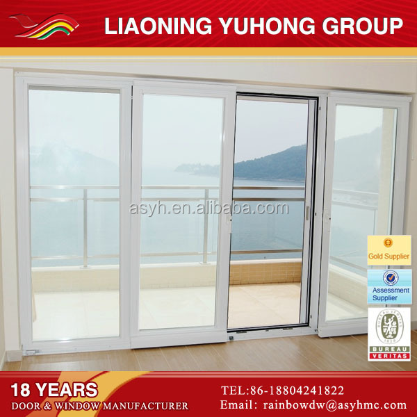 exterior glass louver door