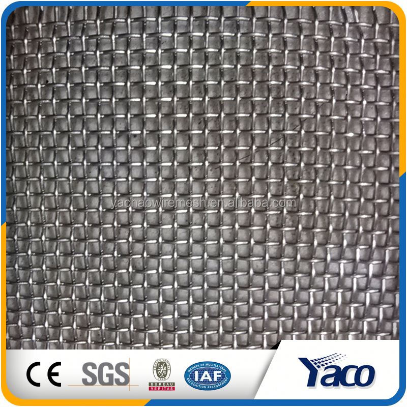 Made In China Coated Wrap edges stainless steek crimped wire mesh screen