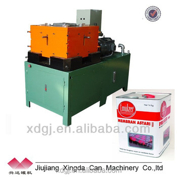10-20l factory square tinplate equipment can making paint machine production line