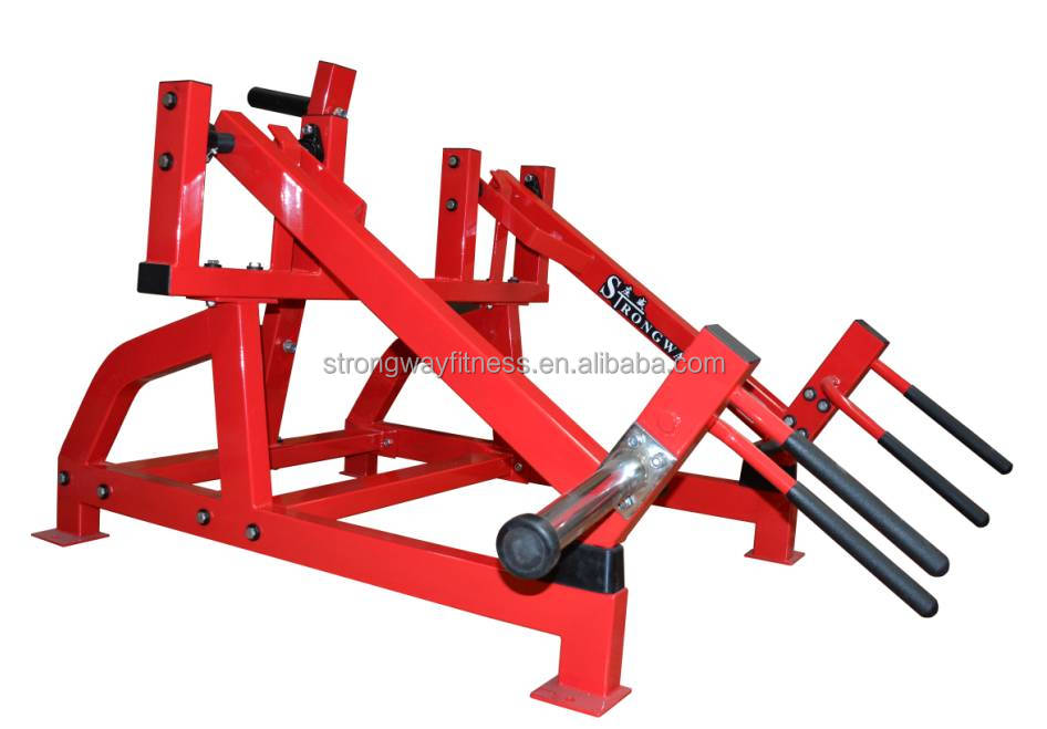 Fitness equipment Hammer strength loaded plate machine Squat High Pull SH22