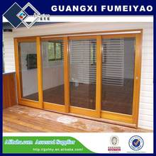 Wood Grain Sliding WIndow
