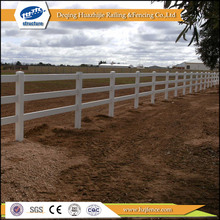 PVC rail ranch field portable horse fence panel