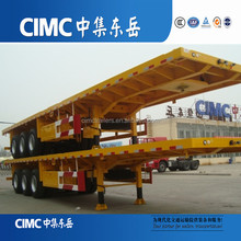 CIMC high quality 3 axle flatbed semi trailers for sale