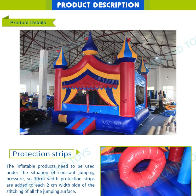 New design castle inflatable combo / inflatable castle for sale