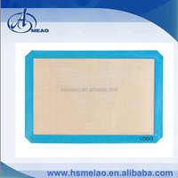 Eco-friendly silicone baking mat with private color, logo
