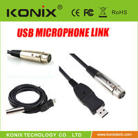 supports USB 2.0/1.1 microphone cable converter