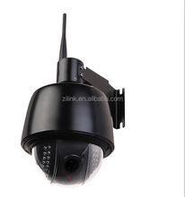 Hot Outdoor 4 Inch Mini 5x Zoom Waterproof HD PTZ Dome IP Camer with Auto Focus Night View CCTV Dome Camera