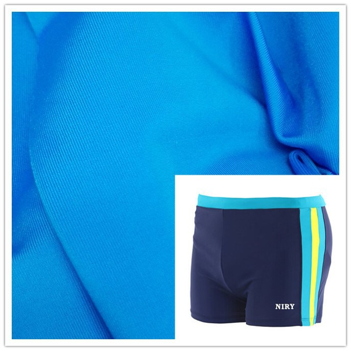 polyester nylon spandex stretch fabric for swimwear toy shoes