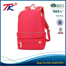 Best choose color rich red comfort amoy backpack for notebooks