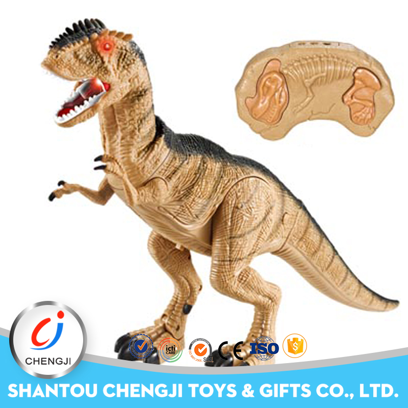 2017 High quality remote control giant animal sex dinosaur toys with light
