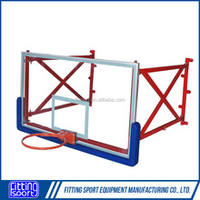 Foldable Wall Mounting Tempered Glass Basketball System