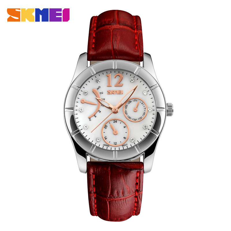 skmei teenage girls fashion gift wrist watch