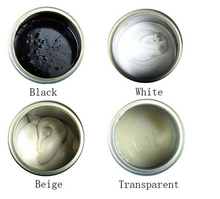 JUHUAN clear white and black marble adhesive stone building glue
