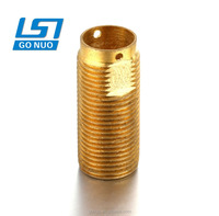 Trimming sleeve left hand thread metal electric motor bronze bushing