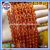 Top quality hot sale Muslim prayer amber beads for prayer rosary jewelry