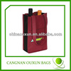 Hot sale compact and portable pp non woven wine bags