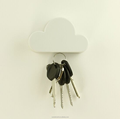 Custom cloud metal keychain holder with magnet